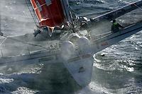 Seiling<br /> Foto: DPPI/Digitalsport<br /> NORWAY ONLY<br /> <br /> SAILING - AROUND THE WORLD SOLO RECORD ATTEMPT 2004<br /> <br /> CASTORAMA B&Q / SKIPPER : ELLEN MACARTHUR (UK)