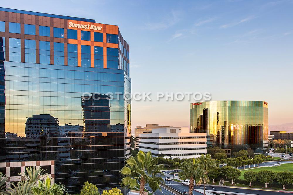 Irvine Business District at Von Karman and 405 Freeway