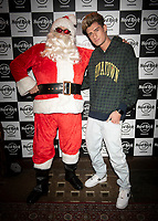TayTay Starhz at the Hard Rock Cafe celebrity-studded Christmas party for children's charity Fight For Life LONDON, 2 December 2019