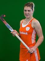 DEN BOSCH - VALERIE MAGIS  . Nederlands Hockeyteam  voor nieuwe platform Hockey.nl.    FOTO KOEN SUYK