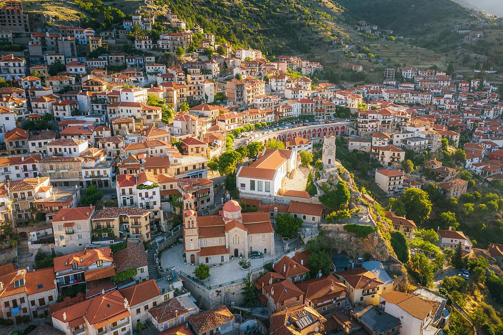 Arachova (Caryae)  mountain town in Greece