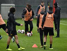 Belgium National Team Training - 05 Oct 2017