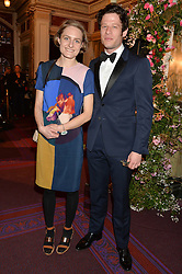JAMES NORTON and VITA PEACOCK at The Backstage Gala hosted by Diana Vishneva , Principal Dancer of the Mariinsky and American Ballet Theatre, and Natalia Vodianova in aid of The Naked Heart Foundation held at The London Coliseum, St.Martin's Lane, London on 17th April 2015.