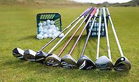 NOORDWIJK -Test hybride golfclubs FOTO KOEN SUYK