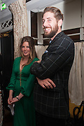 TARKA RUSSELL; TOBIAS CZUDEJ, Dinner to celebrate the opening of Pace London at  members club 6 Burlington Gdns. The dinner followed the Private View of the exhibition Rothko/Sugimoto: Dark Paintings and Seascapes.