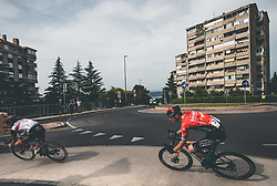 Jan Polanc and Matej Mohoric during Slovenian National Road Cycling Championships 2021, on June 20, 2021 in Koper / Capodistria, Slovenia. Photo by Vid Ponikvar / Sportida