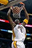 NBA-Seattle Super Sonics at Los Angeles Lakers-Feb 23, 2003