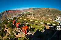 Iron Mountain Tram Ride, Glenwood Caverns Adventure Park, Glenwood Springs, Colorado USA