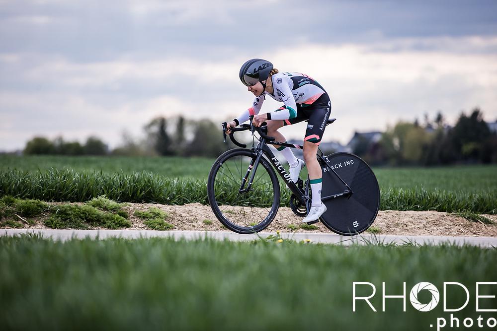 Julia Van Bokhoven (NED/Parkhotel Valkenburg)<br /> <br /> Ceratizit Festival Elsy Jacobs (LUX) 2021<br /> UCI Women Elite 2.1<br /> Day 1 - prologue : Individual Time Trial (ITT) – Cessange (LUX) 2.2km <br /> <br /> ©RhodePhoto