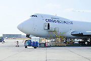 Israel, Ben-Gurion international Airport El Al Cargo, Boeing 747-200