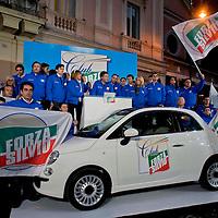 Missione Azzurra, 200 volontari per Silvio Berlusconi