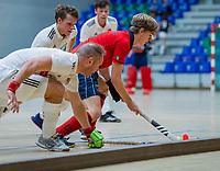 AMSTERDAM - . Zaalhockey hoofdklasse, Amsterdam H1-Laren H1 (9-1). COPYRIGHT KOEN SUYK