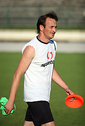 Coach Nihad Pejkovic at practice of free players of SPINS before departure to FIFPro tournament 2008 in Amsterdam, The Netherlands, for out-of-contract football professionals, on July 16, 2008, at Stadium ND Ilirija, in Ljubljana, Slovenia. (Photo by Vid Ponikvar / Sportal Images)