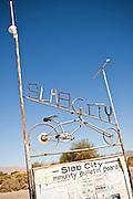 Slab City commune camp Niland, California