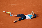 Roland Garros. Paris, France. June 10th 2007..Rafael NADAL wins the men's final against Roger FEDERER.