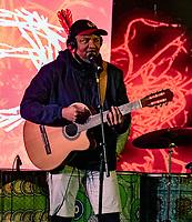 Marcos Santaana  at the Also Festival Park Farm, Compton Verney, Warwick 29th aug 2020 photo by Mark Anton Smith