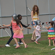 London, UK. 21th July, 2019. Lambeth Country Show 2019 a family festival with live music food & drinks, Arts and Culture and animal show at Brockwell Park, London.