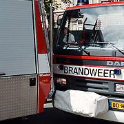 Brand Huizen, schade brandweer ongeval