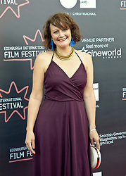 Premiere of Eaten by Lions directed by Jason Wingard at the Edinburgh International Film Festival<br /> <br /> Pictured: Hannah Stevenson, Producer