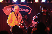 l to r: Gary Bartz, Quest?love, and Black Thought at The OkayPlayer Hoiliday Jammy presented by OkayPlayer and Frank Magazine held at BB Kings on December 18, 2008 in New York City..The Legendary Roots Crew gives back to fans with All-Star line-up of Special Guests to celebrate upcoming Holiday Season.