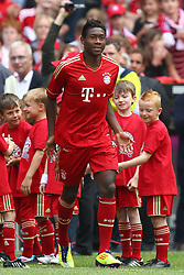 02.07.2011, Allianz Arena, Muenchen, GER, 1.FBL, FC Bayern Muenchen Saisoneroeffnung , im Bild  David Alaba (Bayern #27) , EXPA Pictures © 2011, PhotoCredit: EXPA/ nph/  Straubmeier       ****** out of GER / CRO  / BEL ******