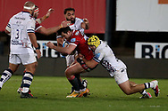 Gloucester Rugbys Henry Trinder  during the Gallagher Premiership Rugby match between Gloucester Rugby and Bristol Rugby at the Kingsholm Stadium, Gloucester, United Kingdom on 12 February 2021.