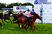 Secret Return ridden by Paddy Bradley and trained by Robyn Brisland wins the Visit Valuerater.co.uk For Free Tips Handicap - Mandatory by-line: Dougie Allward/JMP - 10/07/2020 - HORSE RACING - Bath Racecourse - Bath, England - Bath Races