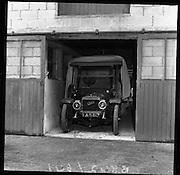Veteran cars at Straffan House, Co Kildare..23.05.1961