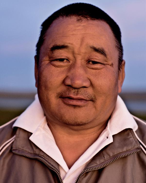 Portraits of Mongolian Man