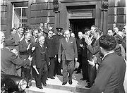 15th Dail re-opens at lenister house 2nd June 1954 2-6-1954