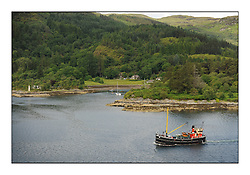 Day three of the Fife Regatta, Cruise up the Kyles of Bute to Tighnabruaich<br /> <br /> Vic 32, Cala Harbour<br /> <br /> * The William Fife designed Yachts return to the birthplace of these historic yachts, the Scotland's pre-eminent yacht designer and builder for the 4th Fife Regatta on the Clyde 28th June–5th July 2013<br /> <br /> More information is available on the website: www.fiferegatta.com