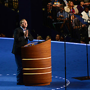 Montana Governor Brian Schweitzer speaks at the 2012 Democratic National Convention