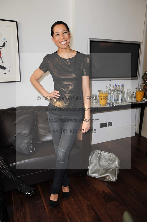 MARGHERITA TAYLOR at a breakfast hosted by Bobbi Brown - the cosmetics company held at Morton's, 28 Berkeley Square, London on 8th December 2009.