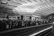 SUBWAY RIDERS AFTER THE MARCH,     , Womens's March on  Washington DC. 21 January 2017