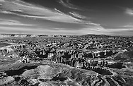 A tortured landscape seen from the Grandview Point Overlook at Canyonlands National Park, Utah, USA