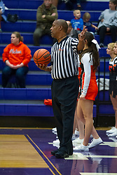 18 January 2020: !st Round Boys Basketball game Fisher Bunnies v Ridgeview Mustangs during the 109th 2020 McLean County Tournament at El Paso Gridley High School in El Paso IL<br /> <br /> Photo by Alan Look