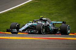 August 24, 2018 - Spa Francorchamps, Belgique - Bottas N°77 Mercedes (Credit Image: © Panoramic via ZUMA Press)