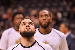 January 11, 2019 - Toronto, Ontario, Canada - Fred VanVleet #23 of the Toronto Raptors looks up during the Toronto Raptors vs Brooklyn Nets NBA regular season game at Scotiabank Arena on January 11, 2019, in Toronto, Canada (Toronto Raptors win 122-105) (Credit Image: © Anatoliy Cherkasov/NurPhoto via ZUMA Press)