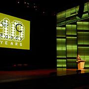 NLD/Amsterdam/20061213 - Uitreiking Grote Prins Claus Prijs 2006, speech Prins Friso, logo, zaal