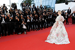 May 15, 2019 - Cannes, Alpes-Maritimes, Frankreich - Elle Fanning attending the 'Les Misérables' premiere during the 72nd Cannes Film Festival at the Palais des Festivals on May 15, 2019 in Cannes, France (Credit Image: © Future-Image via ZUMA Press)