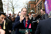 South & City College Birmingham  welcoming The Duke of Cambridge to the newly refurbished Handsworth Campus as part of his visit to the City on Friday 29 November.<br /> <br /> The Duke will meet Mike Hopkins, Principal of the college and students who are studying at the Handsworth Campus on the Soho Road, and will hear about the improvements which have been made to the centre over the past 18months.<br /> <br /> The college has invested £3million in the Grade II listed building – which had previously not seen any renovations for over 20 years following a merger in August 2012. The renovations have been ongoing and stage two has just been completed – opening the front of the building to students and the public this month.<br /> <br /> The centre has become an important feature in the community, with many community groups and local businesses using the facilities such as the Community Hub – a suite of rooms which groups and businesses can use free of charge.Picture by Shaun Fellows / Shine Pix