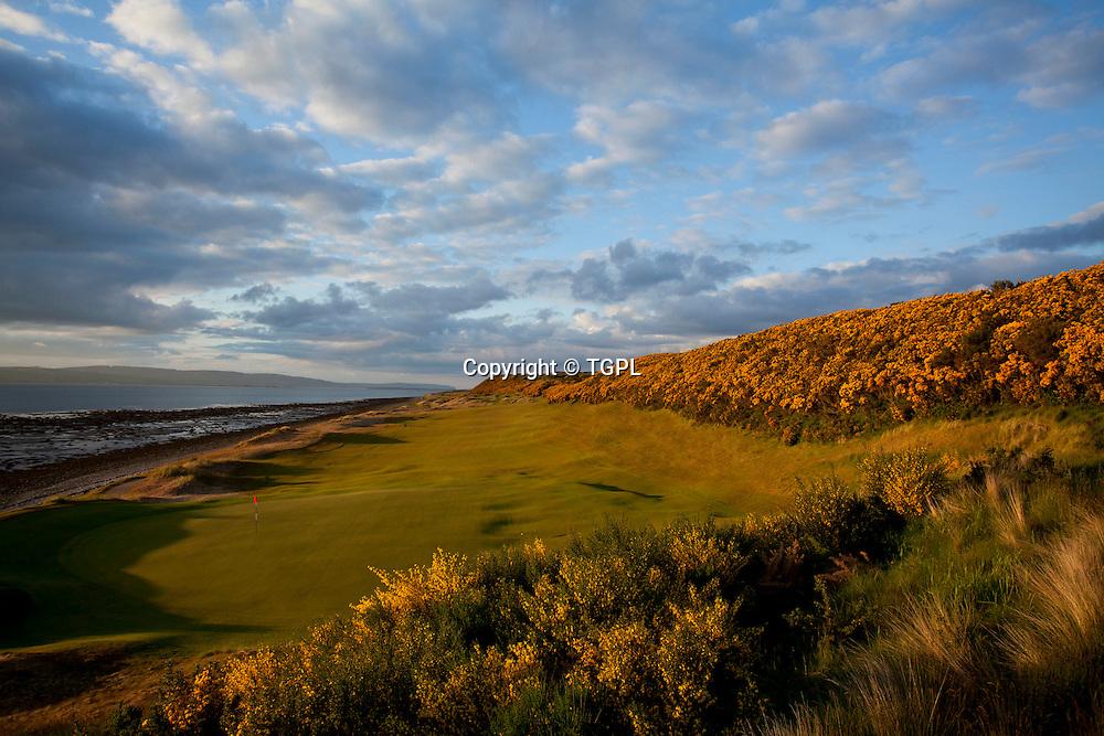 Castle Stuart  Golf Links 1st par 4,Inverness,Highlands,Scotland.