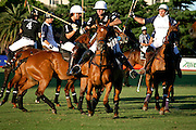 Ellerstina and La Dolfina battle it out, Palermo, Buenos Aires