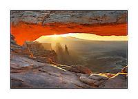 Sunrise at Mesa Arch, Canyonlands National Park, Utah