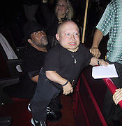 """Verne Troyer signing autographs.EXCLUSIVE.""""Austin Powers"""" Post Premiere Party.Universal Studios.Hollywood, CA.July 22, 2002.Photo By Celebrityvibe.com.."""
