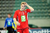 Fredag 1. November 2013 , Hånball , Bring Cup Golden Leauge , Herrer<br /> Norge - Kroatia<br /> Kriatian Bjørnsen - Norge<br /> Foto: Sjur Stølen / Digitalsport