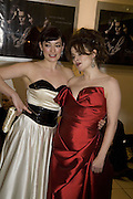 LAURA MICHELLE KELLY AND HELENA BONHAM CARTER, European Film premiere of Sweeny Todd,  Odeon Leicester Sq. and party afterwards at the Royal Courts of Justice. 10 January 2008. -DO NOT ARCHIVE-© Copyright Photograph by Dafydd Jones. 248 Clapham Rd. London SW9 0PZ. Tel 0207 820 0771. www.dafjones.com.