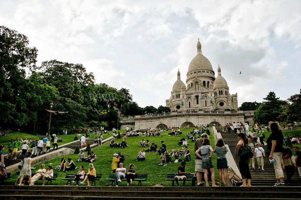 Sacré-Cœur Basilica (Sacred Heart of Jesus of Paris), Paris, France