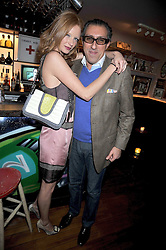 BROOSK SAIB and OLIVIA INGE at a party to celebrate the opening of Barts, Sloane Ave, London on 26th February 2009.