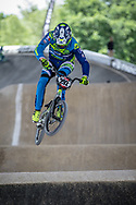 #292 (CHAUVIN Thibaud) FRA at Round 5 of the 2019 UCI BMX Supercross World Cup in Saint-Quentin-En-Yvelines, France
